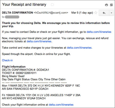 Bogus Delta Receipt Confirmation Leads To Malware Help Net