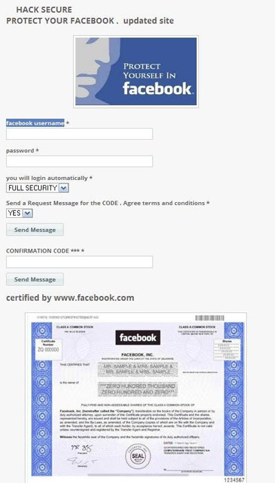 Phishers Lure Users In With Fake Facebook Security App Help Net Security