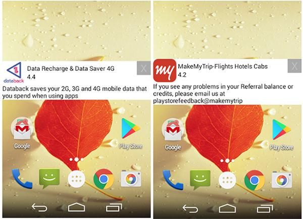 Android malvertising