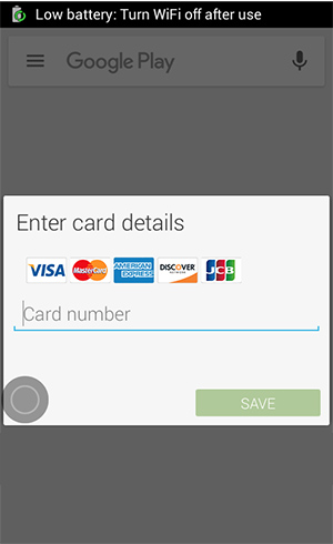 Fake malicious Chrome update carries Android malware, shows fake payment page for harvesting payment card details