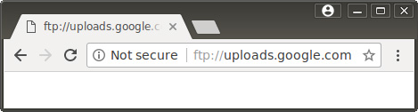 chrome ftp insecure