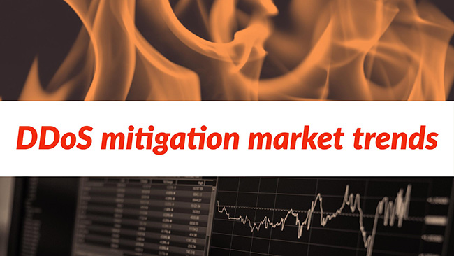 DDoS mitigation market trends