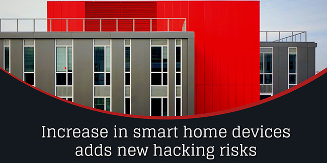 connected homes hacking risks