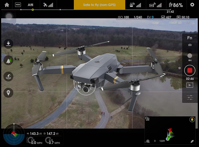 DJI Local Data Mode