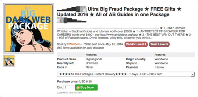 dark web fraud guides
