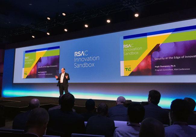 Hugh Thompson at Innovation Sandbox