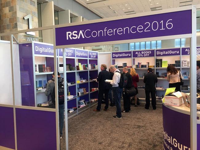 Bookstore RSA Conference 2016
