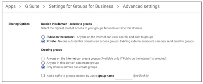 Google Groups data leak
