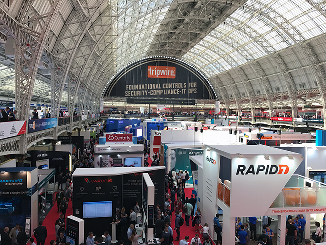 Infosecurity Europe 2017 expo floor