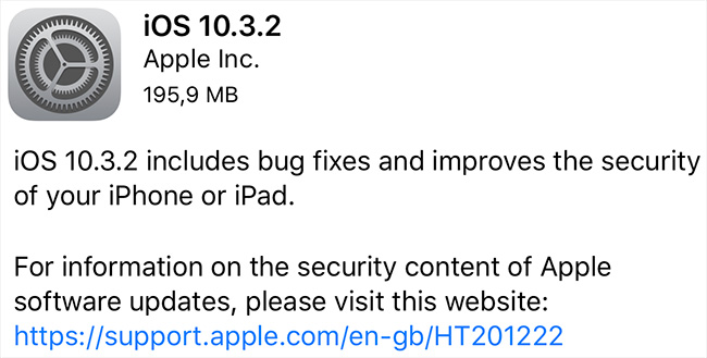 Apple issues security updates