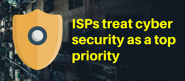 ISPs treat cyber security