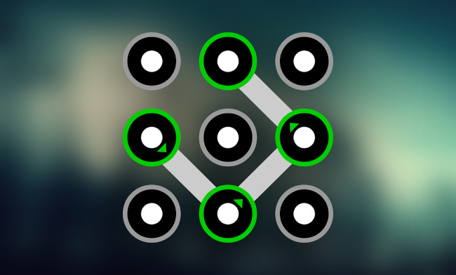 smartphone unlock pattern