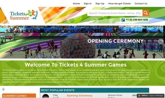 Rio 2016 scams