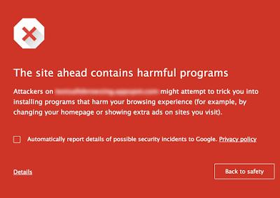 Chrome macOS safe browsing