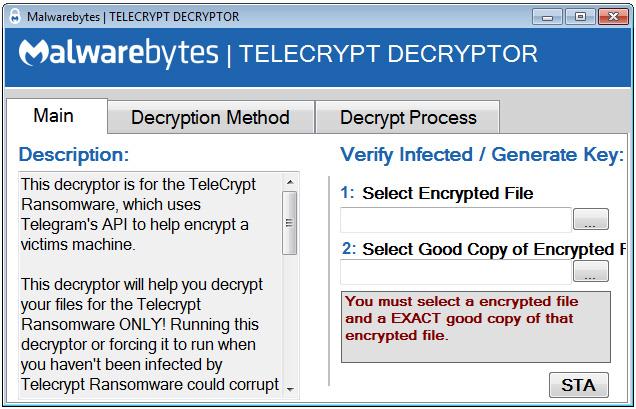 Telecrypt Decryptor