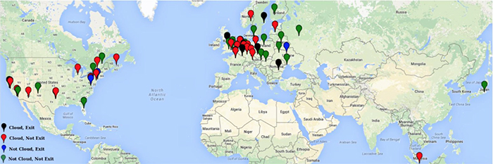 Misbehaving hidden services directories mapped