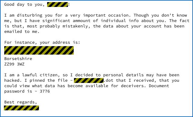 uk scam emails