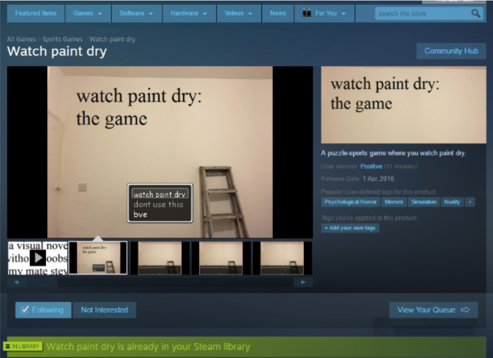 Steam review bypass