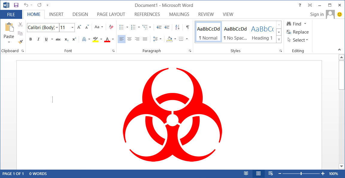 exploit Word documents