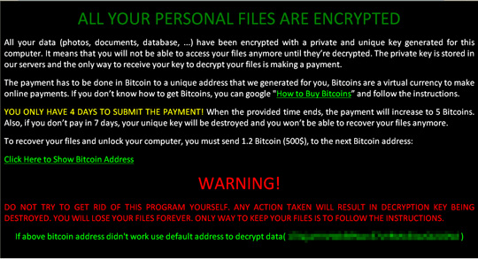 ZCryptor ransomware