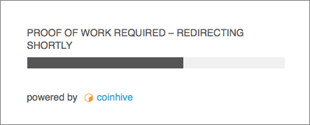 URL shortener cryptojacking
