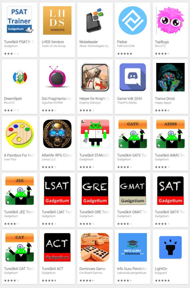 cryptomining apps Google Play