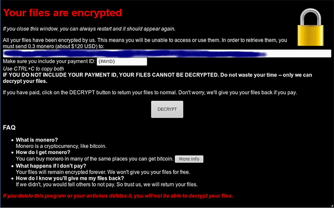 fake cryptocurrency wallet carries ransomware