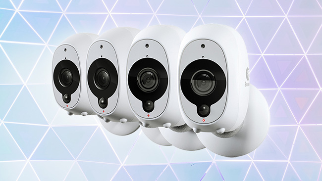 Swann security cameras spying