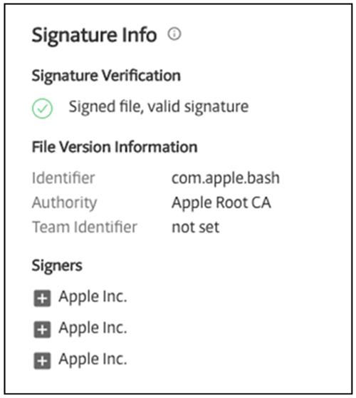 Apple code signing API