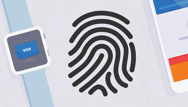 on-card biometric contactless payments