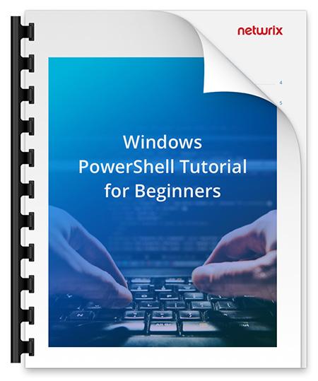 Windows PowerShell Scripting Tutorial
