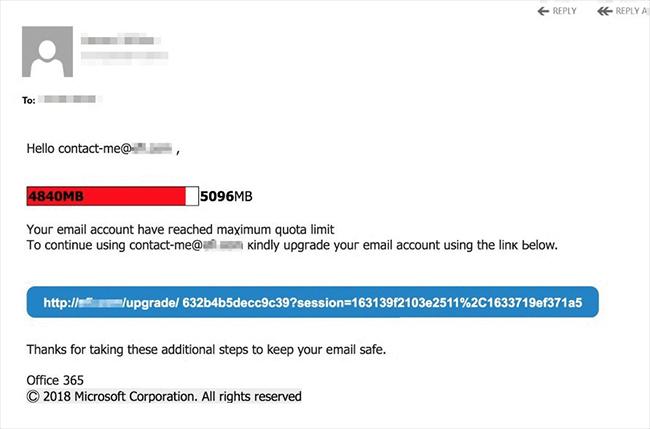 Office 365 phishing tricks