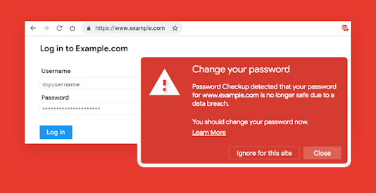 Chrome extension insecure passwords