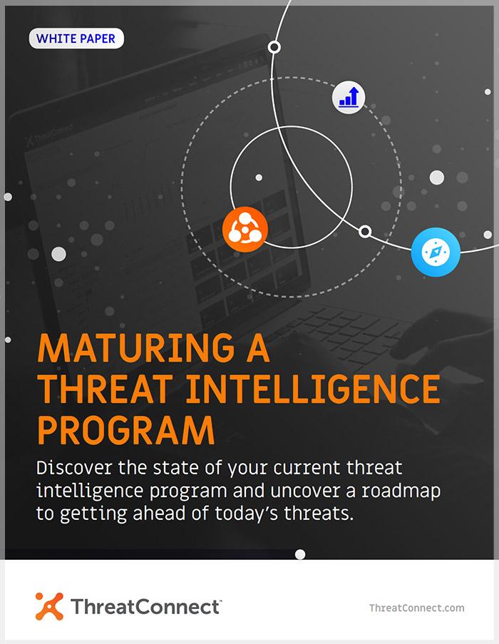 Maturing a Threat Intelligence Program