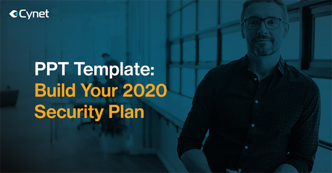 PPT template security plan