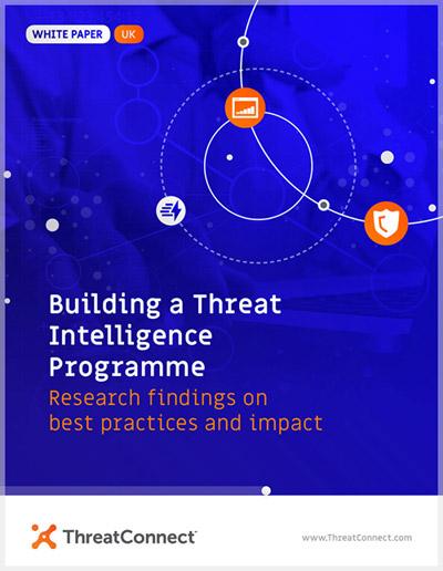 whitepaper Threat Intelligence Programme