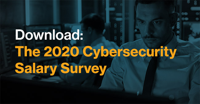 2020 cybersecurity salary survey