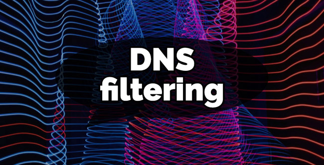 how DNS filtering works