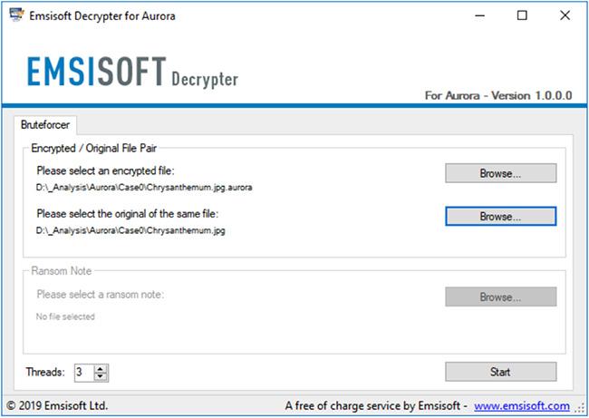 Aurora decrypter Mira decrypter
