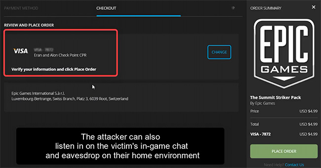 Fortnite vulnerabilities