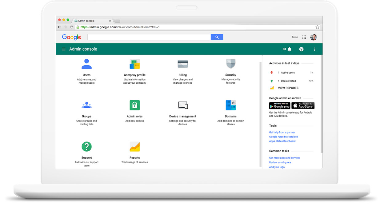 G Suite security tools