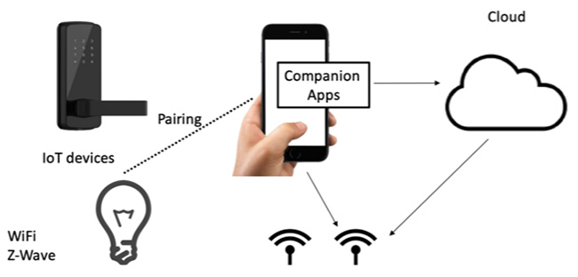 vulnerable IoT companion apps