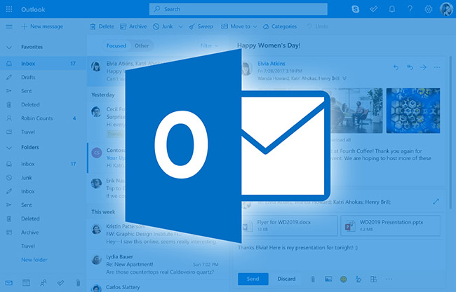 Outlook blocked extensions