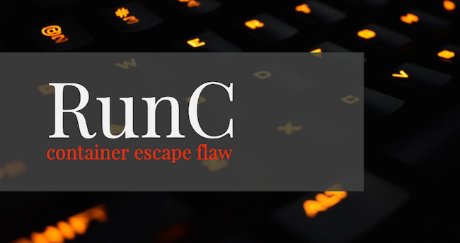 RunC container escape flaw