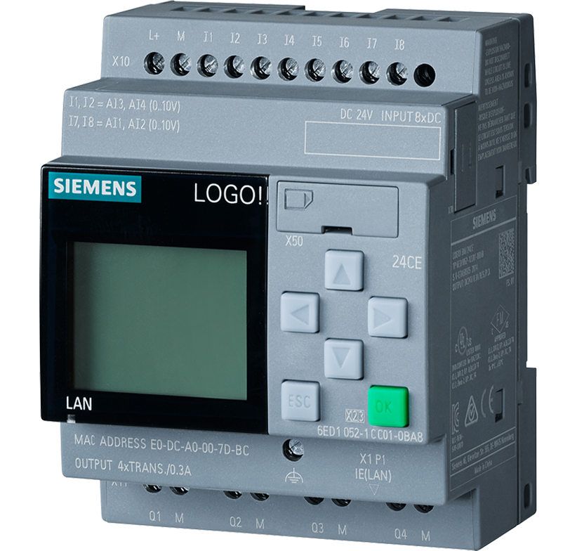 Siemens LOGO vulnerabilities