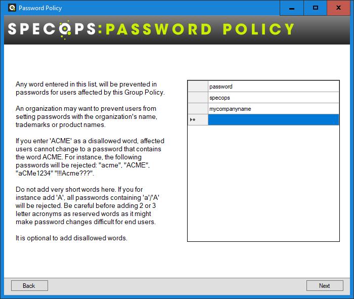 blocking passwords collection leak