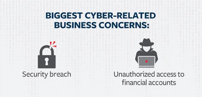 cyber risks top concern