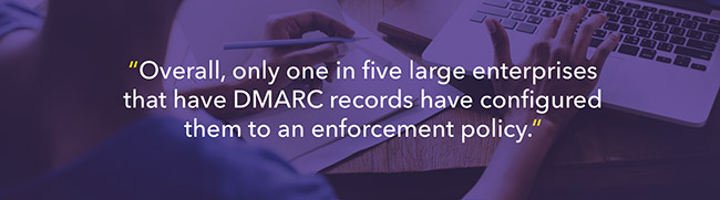 dmarc records increase