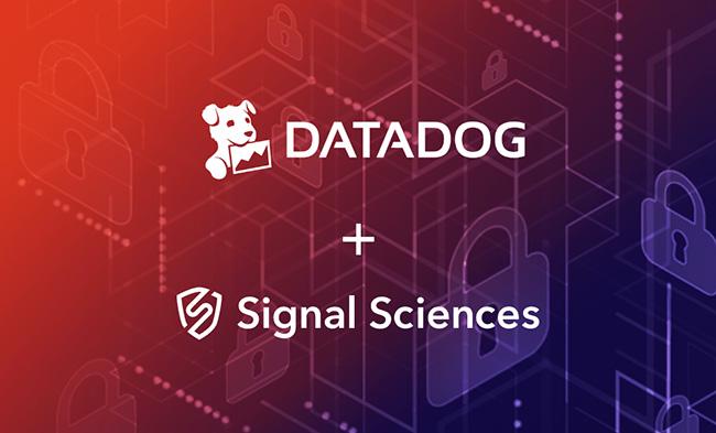Webinar Signal Sciences Datadog