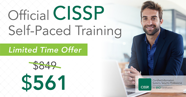CISSP online self-paced training
